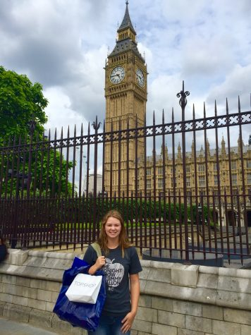 AROUND THE WORLD: The places Emma Edmund covers aren't limited to just the United States. Students should feel free to suggest some destinations around the world that should be covered in Oh! The Places You Should Go...