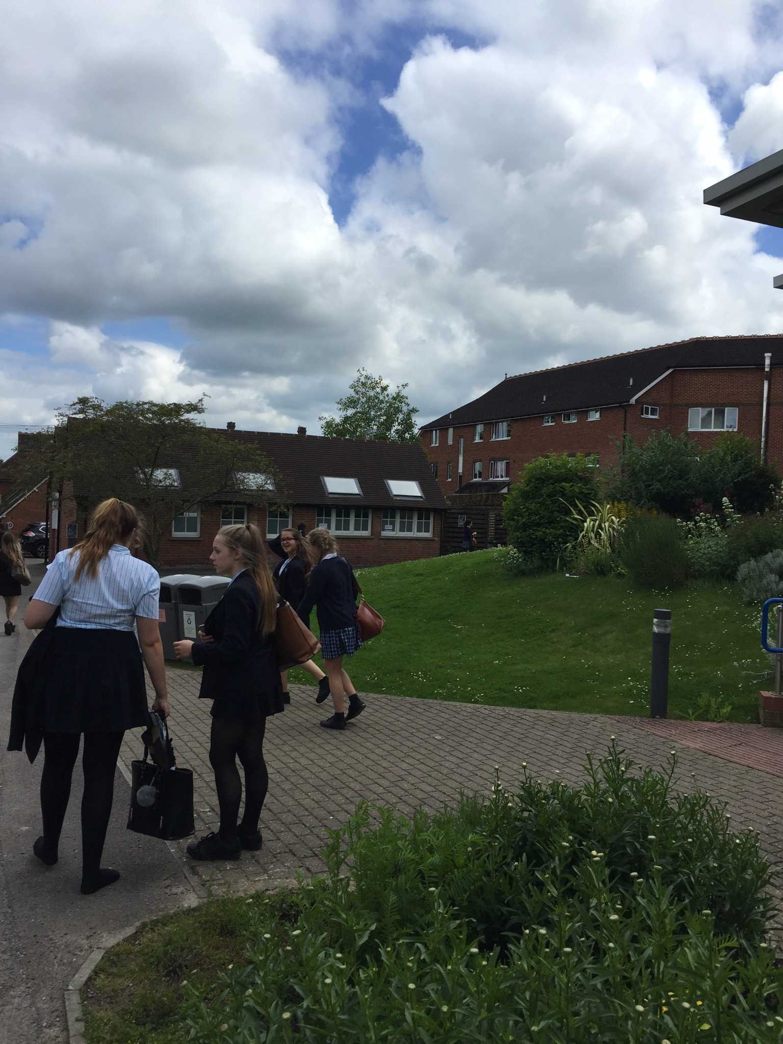 KENT COLLEGE FOR GIRLS: Pictured here is Kent College, the school that six Berkeley students had the chance to visit this past summer. The only problem? The strict uniform!