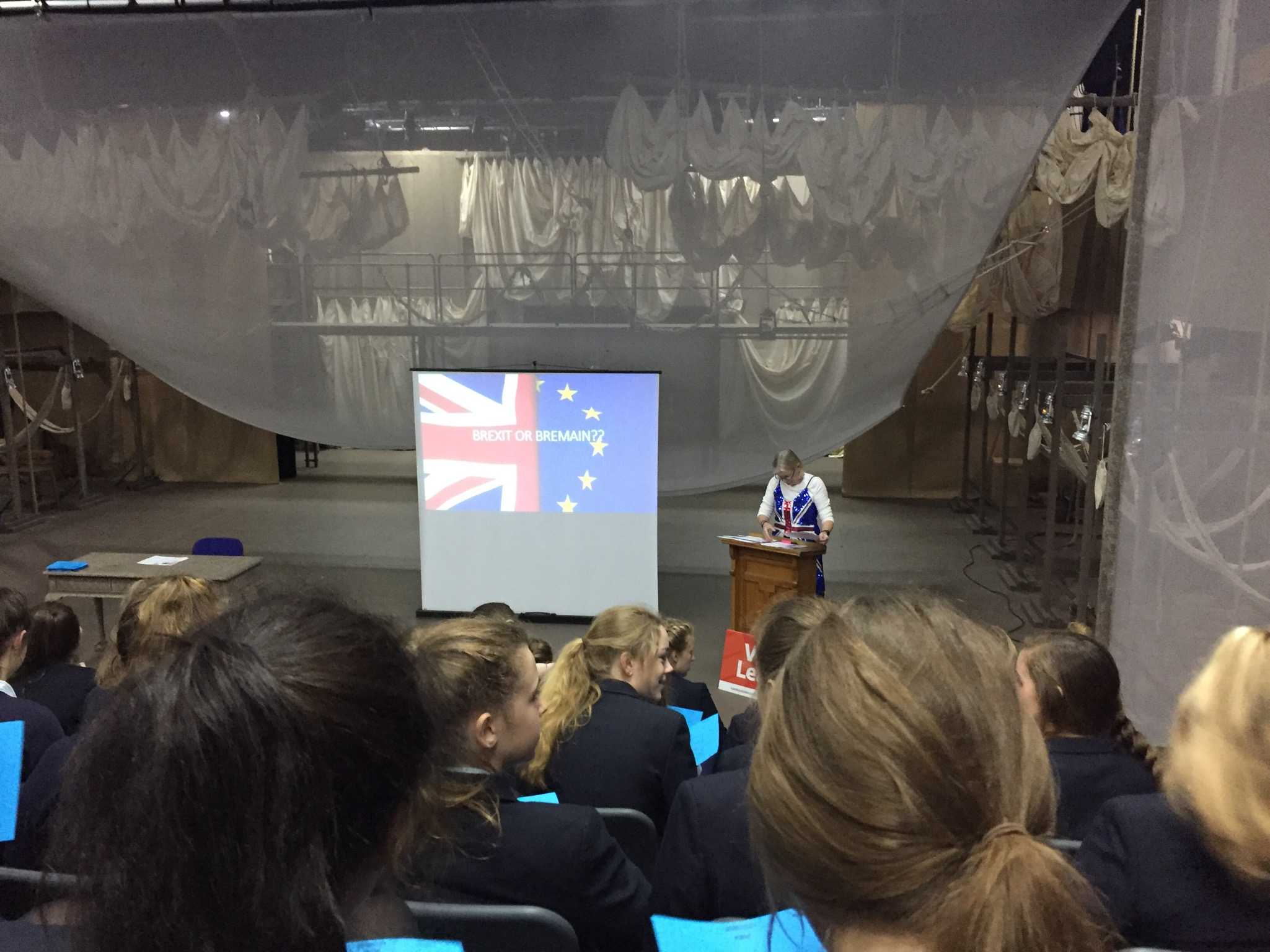 BREXIT OR BREMAIN: Kent College held a mock EU referendum just the day before the actual one. Kent College voted to stay, but the British voted to leave.