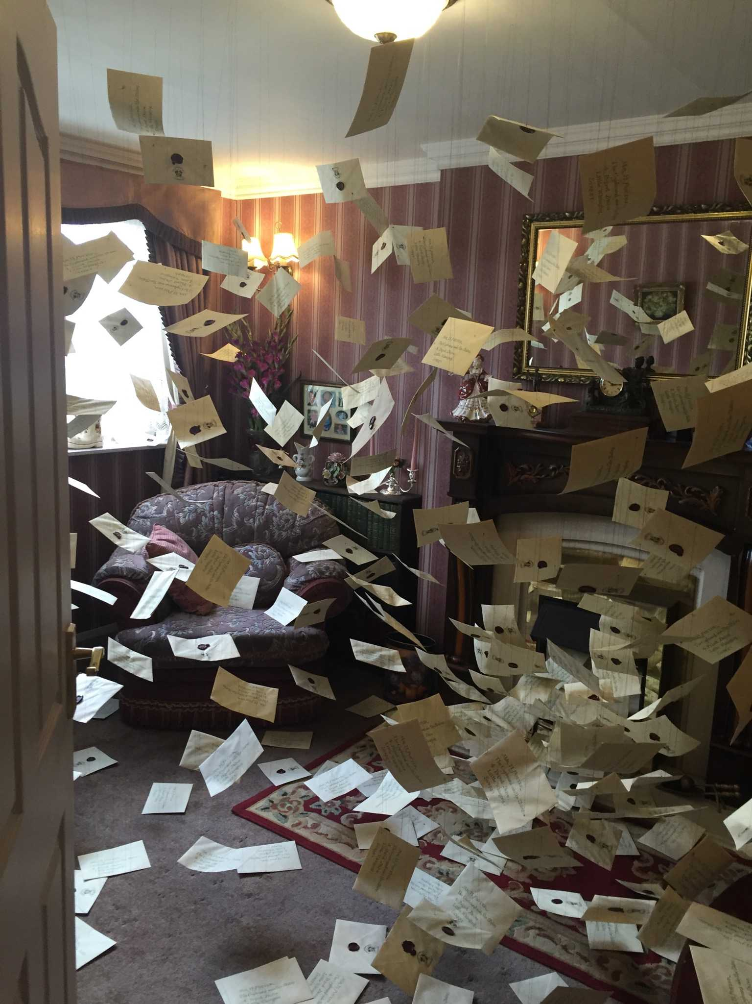 YOU'RE ACCEPTED: If you come home and your house looks like this, then congrats! You've been accepted to Hogwarts (you'll also need a bigger recycling bin).