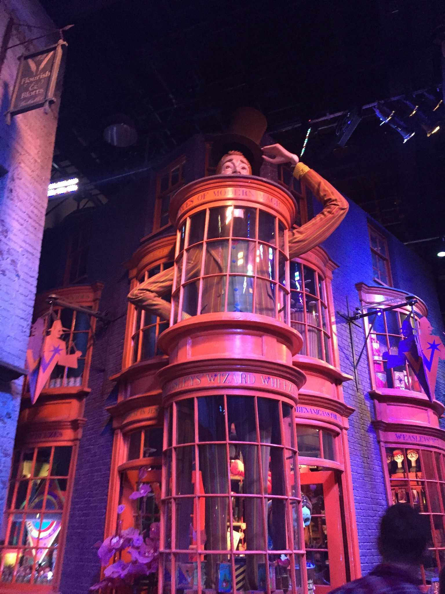 JOKE'S ON YOU: If you want to prank your new classmates, then Weasley's Wizard Wheezes is the place to satisfy your pranking desires.