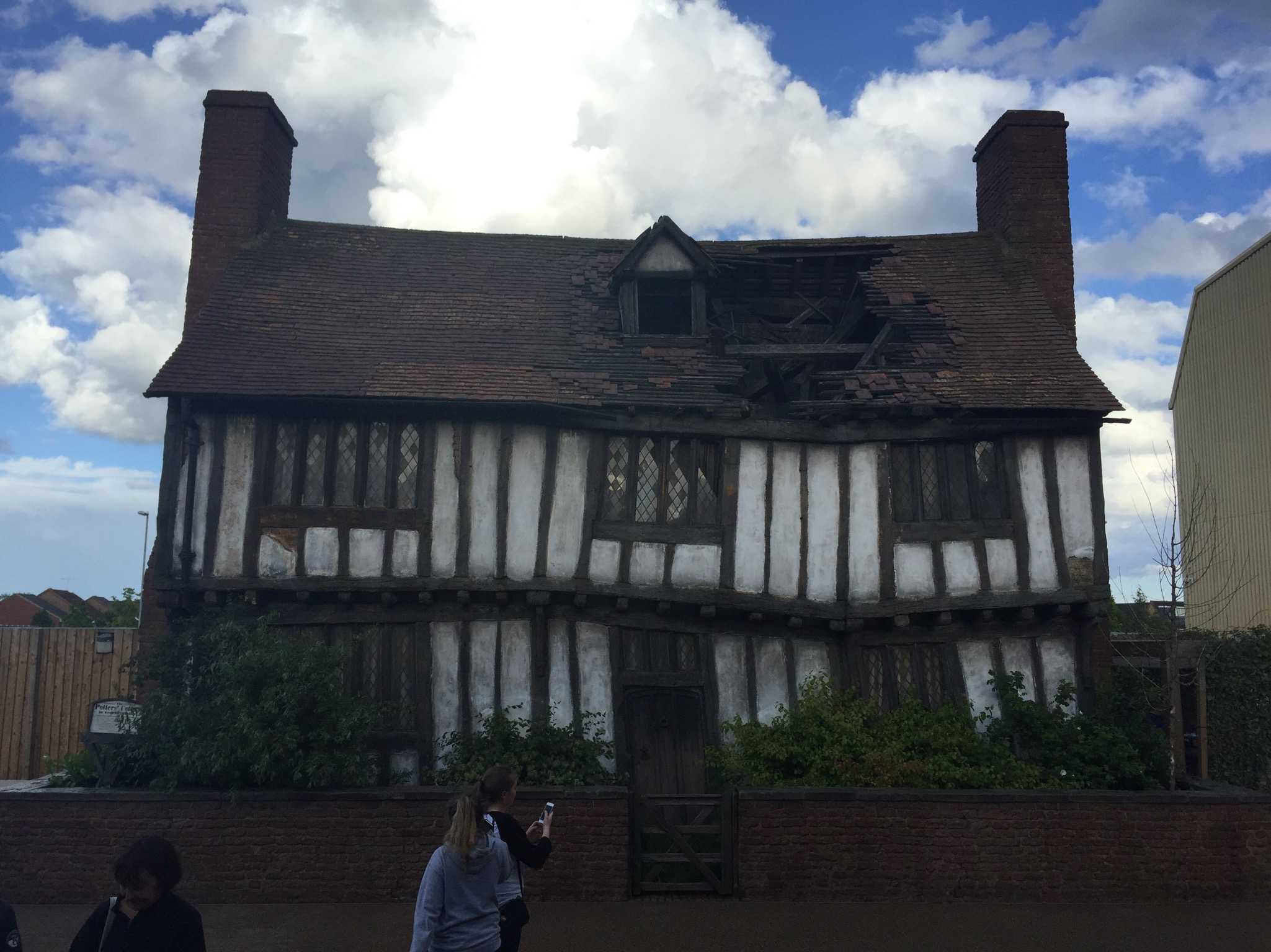 BABY POTTER: You can also visit Godric's Hollow, the birthplace of Harry Potter and where the first battle with Lord Voldemort took place. Spooky.