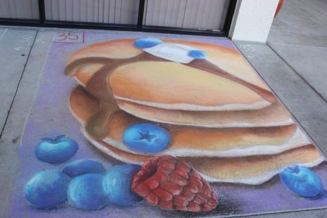Foodie's Delight: Sidewalk Chalk Drawing Contest 2017