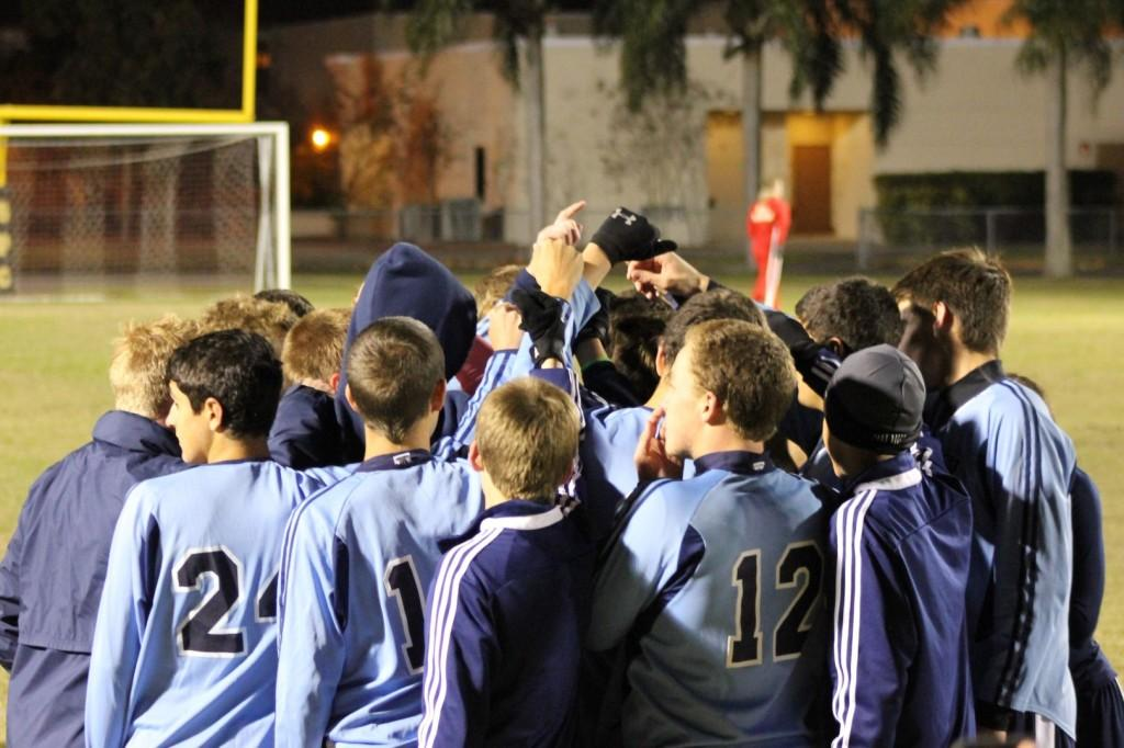Soccer Wins District Championship