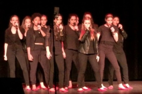 The Divas compete at the 2015 ICHSA competition.