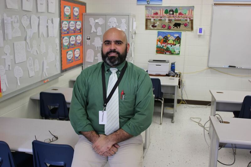 Sr. Blandon has the smile, face and mood of Republican presidential candidate Ben Carson.