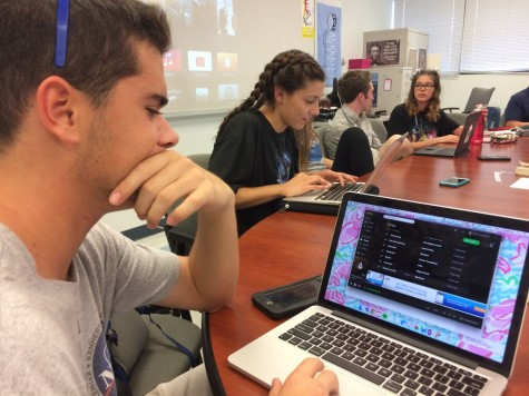 Many students love to use Spotify to provide background music for intense study sessions.