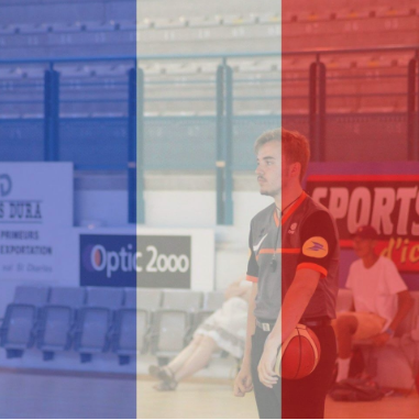Sophomore Charly Pollet from Perpignan, France, shows his solidarity for France with the French flag filter on his Facebook profile picture.
