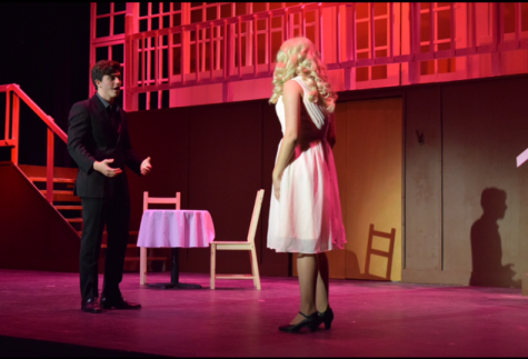 The set took a long time to make, and Stage Manager McKenna Ebert '18 said it was the most ambitious project done all year.