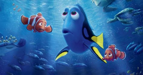 OLD MEETS NEW: This movie poster for Finding Dory underscores the familial bonds that underpin the Finding Nemo series.  Source: comingsoon.net