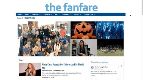 WEBSITE REDESIGN: From The Fanfare's logo to the font of every story, The Fanfare's website has been entirely redesigned. Click around and explore the website to see all of the new features.