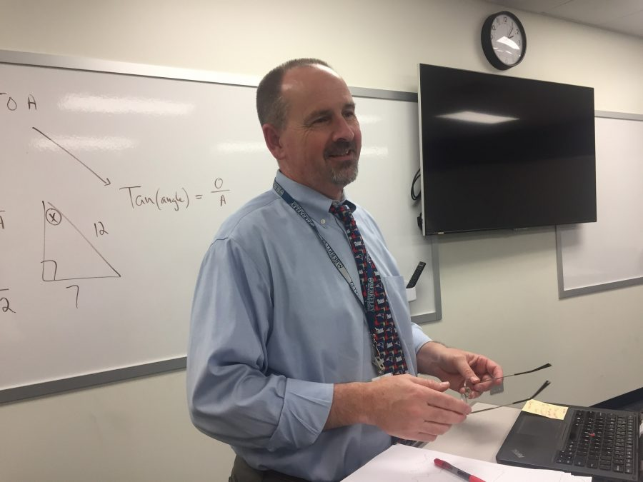 MATH THEMES: Chair of the Mathematics Department David Ide shares some of his favorite math-themed jokes.