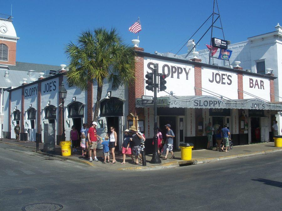 HANG WITH HEMINGWAY: While you can't technically hang with Hemingway, you can still eat at one of his frequented spots, Sloppy Joe's. Located right in the middle of Duval Street, it's a perfect meal stop during your adventures!