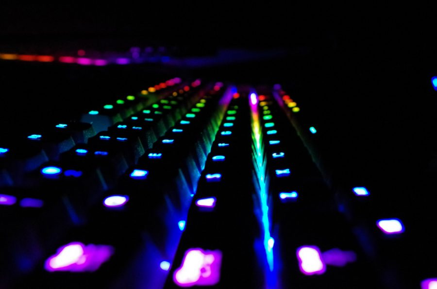 A FULL SPECTRUM OF OPINIONS: Within this column, I aim to provide a variety of opinions regarding different genres of video games and a multitude of publishers, symbolized by the wide spectrum of colors displayed across this Razer BlackWidow Chroma keyboard.