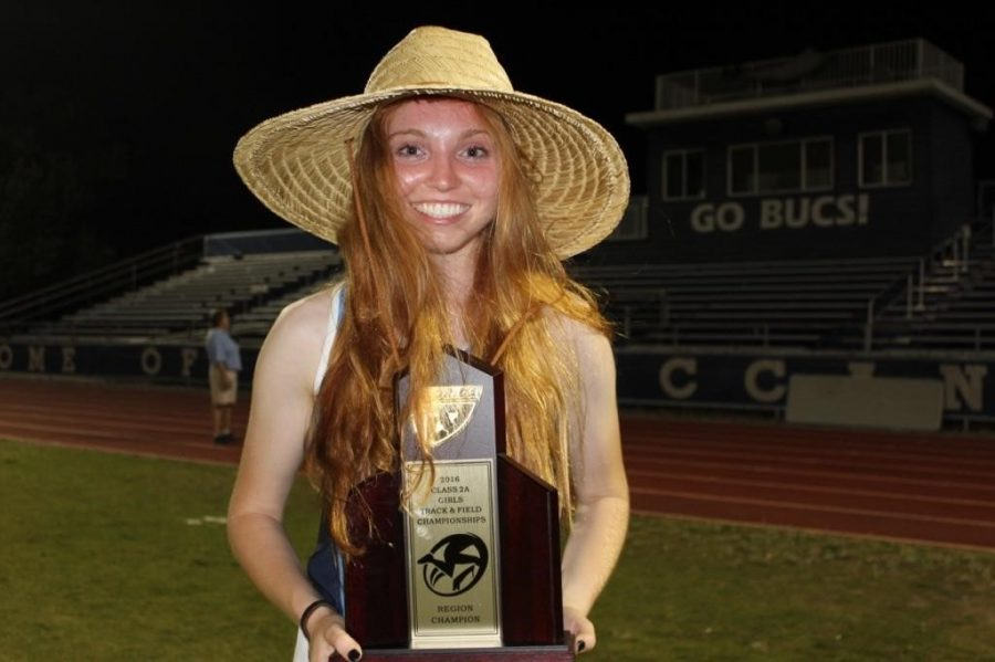 RUNNING WILD: In addition to her many other activities, Makayla also enjoys running and is apart of the Varsity track and Cross-country teams.