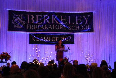 TAKE RISKS: Yelverton challenges the Class of 2017 to branch out from what they are set on achieving in life.
