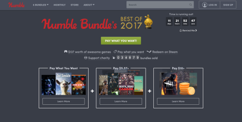 PICK YOUR PRICE: Humble Bundles allow customers to pay as much or as little as they want while offering incentives for paying more, typically in the form of more games.