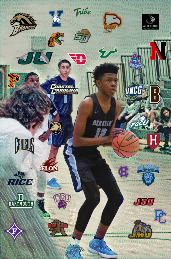 OFFERS GALORE: Barrs garnered over 10 D1 offers and got major interest from a lot more.