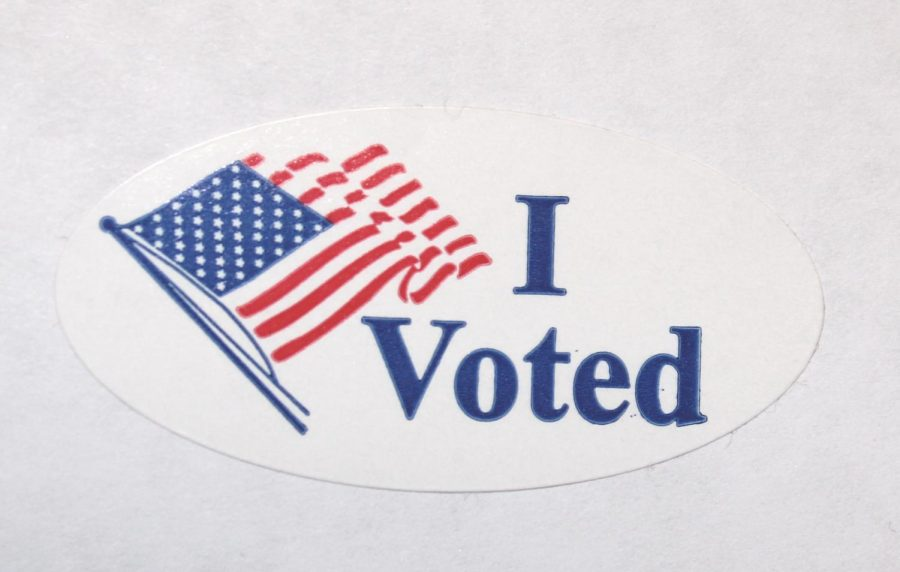 DOING YOUR PART: Make your freedom count by voting in this election.