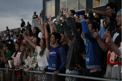 ANOTHER ONE: Berkeley fans go crazy after the football team scores their third touchdown of the night.