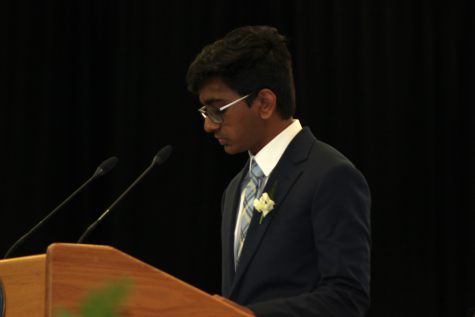 MAKING AN IMPACT: Kevin Patel '21 speaks about the class gift of twelve and a half thousand dollars to the Endowed Alumni Scholarship Fund and how it will impact incoming Berkeley students who need financial aid.