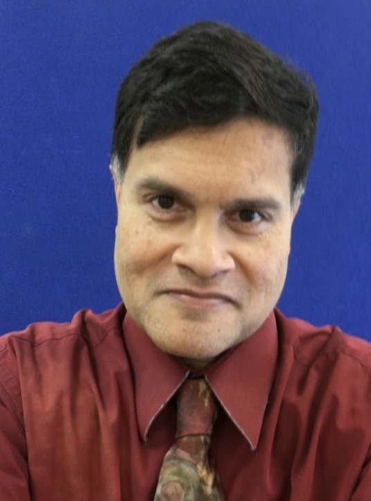 NEW BEGINNINGS: English teacher Dr. Tito Basu discusses his return to Tampa in continuation of his teaching career at Berkeley.